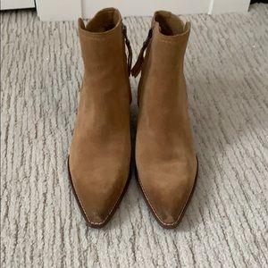 Suede Sam Edelman ankle boots